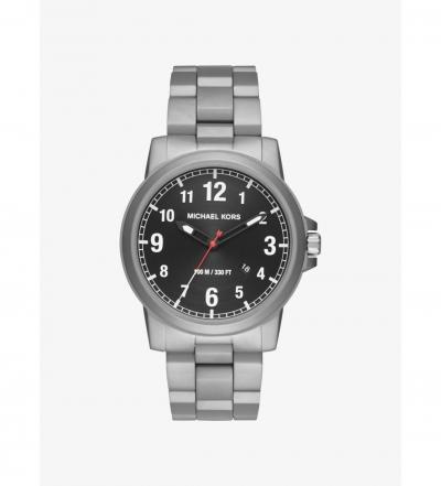 Michael Kors Paxton Silver-Tone Watch