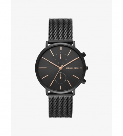 Michael Kors Jaryn Black-Tone Watch