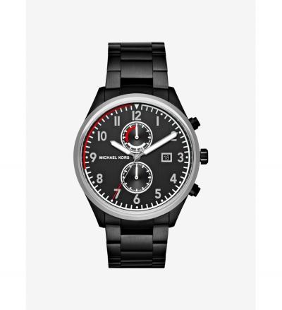 Michael Kors Saunder Black-Tone Watch