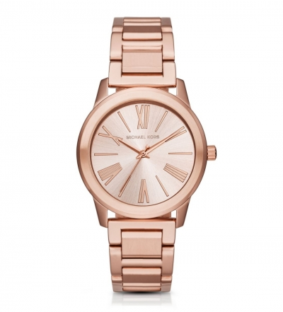 Michael Kors Hartman Rose Gold-Tone Watch