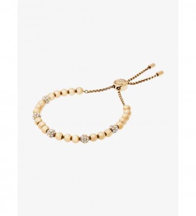 Michael Kors Gold-Tone Slider Bracelet