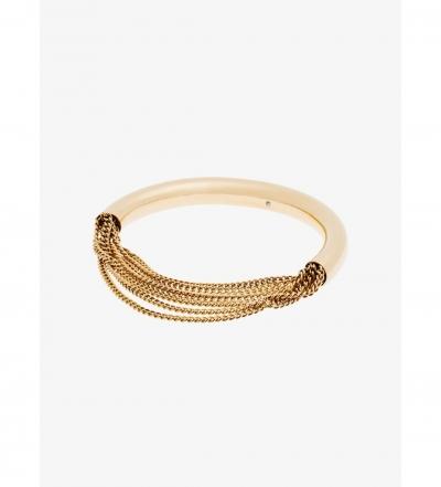 Michael Kors Gold-Tone Draped-Chain Bracelet