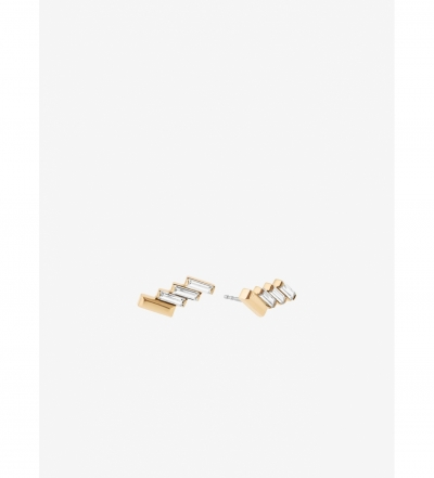 Michael Kors Baguette Stud Earrings