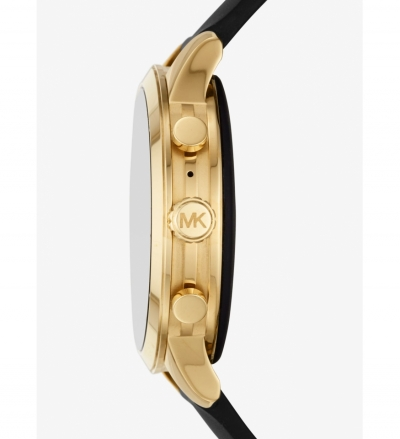Michael Kors Access Gen 4 Runway Gold-Tone and Silicone Smartwatch