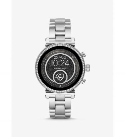 Michael Kors Access Gen 4 Sofie Silver-Tone Smartwatch
