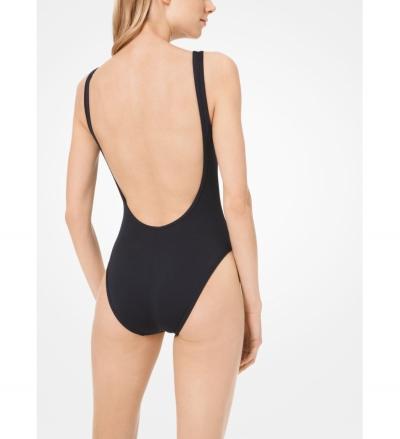 MICHAEL Michael Kors Scoop-Back Swimsuit