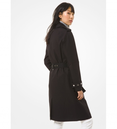 MICHAEL Michael Kors Cotton Twill Trench Coat