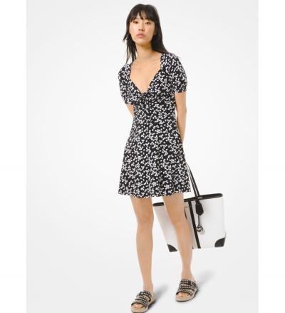 MICHAEL Michael Kors Petal Matte Jersey Dress