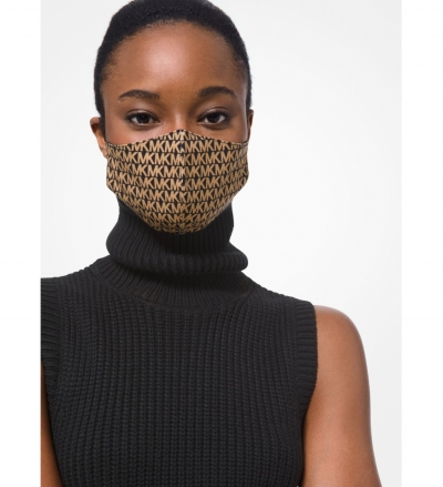 MICHAEL Michael Kors Logo Stretch Cotton Face Mask