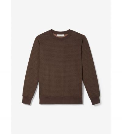 MICHAEL Michael Kors Logo Print Cotton Terry Sweatshirt