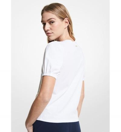 MICHAEL Michael Kors Organic Cotton Puff Sleeve T-Shirt