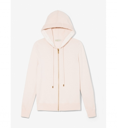 MICHAEL Michael Kors Wool Blend Zip-Up Hoodie