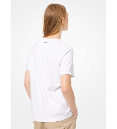MICHAEL Michael Kors Cotton-Jersey T-Shirt