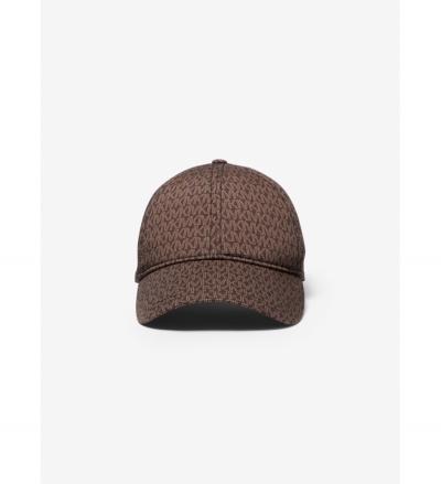 MICHAEL Michael Kors Logo Print Stretch Cotton Baseball Cap