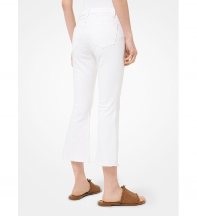 MICHAEL Michael Kors Stretch-Cotton Flared Jeans