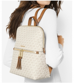 MICHAEL Michael Kors Rhea Medium Slim Logo Backpack