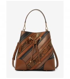 MICHAEL Michael Kors Mercer Gallery Medium Patchwork Embossed Leather Shoulder Bag