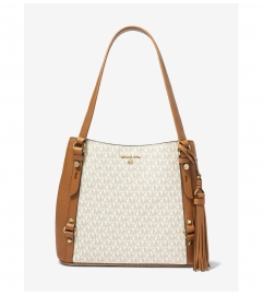 MICHAEL Michael Kors Carrie Large Logo Shoulder Bag