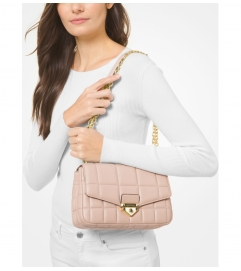 MICHAEL Michael Kors Soho Large Quilted Leather Shoulder Bag