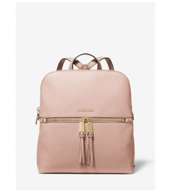 MICHAEL Michael Kors Rhea Medium Pebbled Slim Backpack