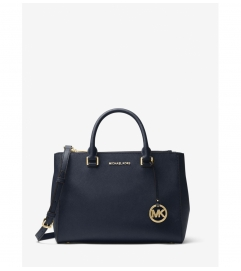 MICHAEL Michael Kors Kellen Saffiano Leather Satchel