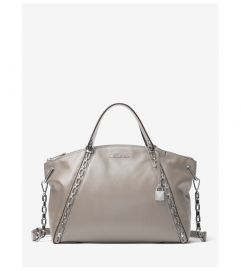MICHAEL Michael Kors Sadie Leather Satchel