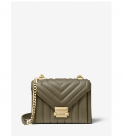 MICHAEL Michael Kors Whitney Small Quilted Leather Convertible Shoulder Bag