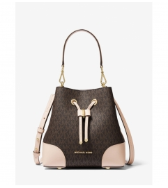 MICHAEL Michael Kors Mercer Gallery Small Logo Shoulder Bag