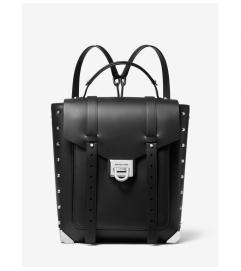 MICHAEL Michael Kors Manhattan Medium Leather Backpack