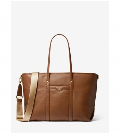 MICHAEL Michael Kors Beck Large Pebbled Leather Tote Bag