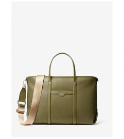 MICHAEL Michael Kors Beck Medium Pebbled Leather Tote Bag