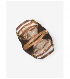 MICHAEL Michael Kors Raven Logo Shoulder Bag