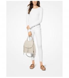 MICHAEL Michael Kors Viv Large Pebbled Leather Backpack