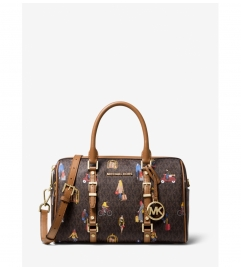 MICHAEL Michael Kors Bedford Travel Medium Jet Set Girls Duffel Satchel