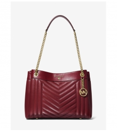 MICHAEL Michael Kors Susan Medium Quilted Leather Shoulder Bag