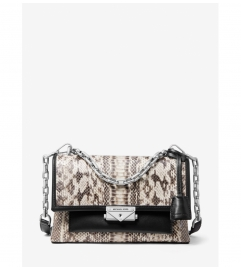MICHAEL Michael Kors Cece Medium Snakeskin Shoulder Bag