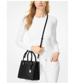 MICHAEL Michael Kors Mercer Medium Saffiano Leather Crossbody Bag