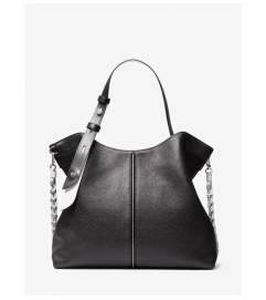 MICHAEL Michael Kors Downtown Astor Large Pebbled Leather Shoulder Bag