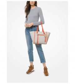 MICHAEL Michael Kors Carine Medium Logo Tote Bag