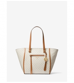 MICHAEL Michael Kors Carine Medium Logo Tote Bag