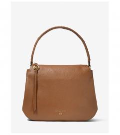 MICHAEL Michael Kors Grand Large Pebbled Leather Shoulder Bag