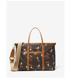 MICHAEL Michael Kors Beck Medium Jet Set Girls Tote Bag