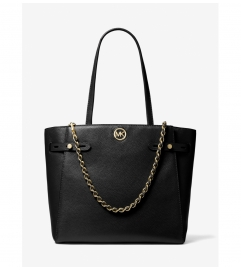 MICHAEL Michael Kors Carmen Large Pebbled Leather Tote Bag