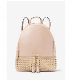 MICHAEL Michael Kors Rhea Medium Studded Leather Backpack