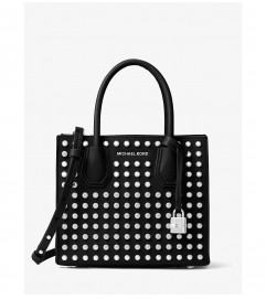 MICHAEL Michael Kors Mercer Studded Leather Crossbody