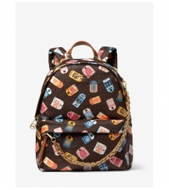 MICHAEL Michael Kors Slater Medium Printed Logo Backpack