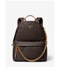 MICHAEL Michael Kors Slater Medium Logo Backpack