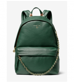MICHAEL Michael Kors Slater Large Pebbled Leather Backpack