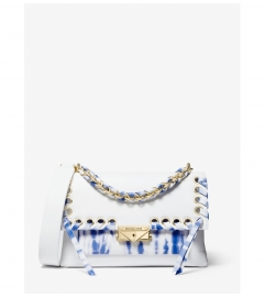MICHAEL Michael Kors Cece Medium Tie Dye Leather Shoulder Bag