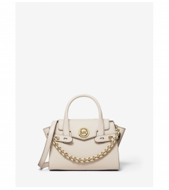 MICHAEL Michael Kors Carmen Extra-Small Saffiano Leather Belted Satchel